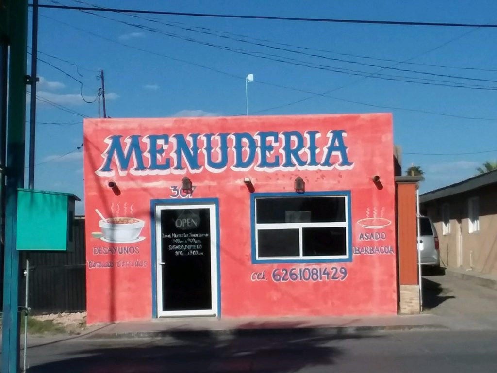 Menudo is famous for curing hangovers!